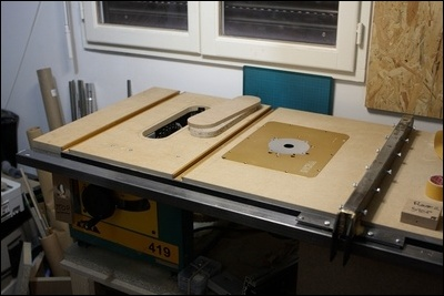 Table custom (avec insert defonceuse) en remplacement de celle de ma kity 419  1-0015065-1